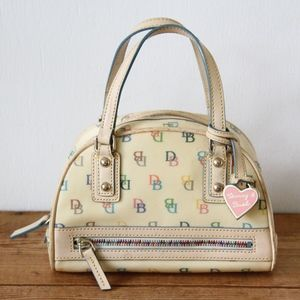 DOONEY & BOURKE Small Gym Canvas Signature Satchel